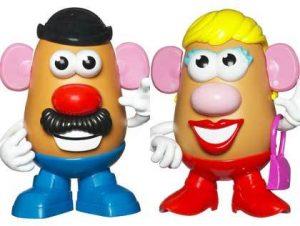 mr. and mrs. potato head on chezgigi.com