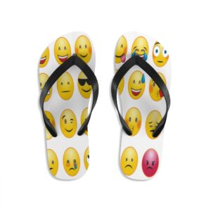 Emoji We feel it all flip-flops on chezgigis.com